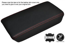 RED STITCHING ARMREST LID GENUINE LEATHER COVER FITS ACURA TSX 2004-2008