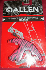 Pink Allen Compact Thumb Activated Release Bow String Hunting Right or Left Hand