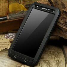 Aluminum Metal Gorilla Glass LOVE MEI Heavy Duty Case Cover for LG V10 V20 G5 G6