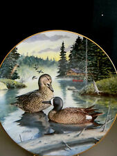 """""""The Blue-Winged Teal"""" by Bart Jerner - 1988 - With Original Box< 00004000 /a>"""