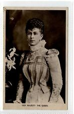 (Lp423-234) RP of Her Majesty the Queen, Mary c1910  Unused, G-VG