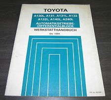 Werkstatthandbuch Toyota Camry SV10 Carina AT151 Starlet EP71 Automatik Getriebe