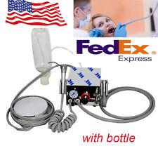 USA Portable Dental Turbine Unit work With air Compressor 4Hole & water syringe