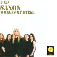 saxon - saxon, wheels of steel import - 2cd (CD NEU!) 4260174990552