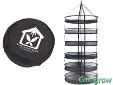 "Lighthouse Drying Rack 75cm (30"")  6 Layer Dry Net Hydroponics"