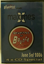 Maximes Ministry of Bounce June 3rd 2006 4xCD bouncy scouse house donk