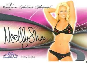 2008 Benchwarmer Authentic Autograph Card Molly Shea