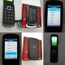 CELLULARE MOTOROLA GLEAM PLUS NERO GSM SIM FREE DEBLOQUE UNLOCKED