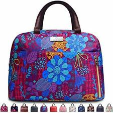 Lunch Bags For Women,Insulated Lunch Box Tote Bag Lunch Organizer Lunch Purple