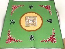 Mah jong Mat Paigow Card Game Table Cover Mah jongg Mahjongg Green