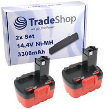 2x Akku 3300mAh Ni-MH für Bosch PSR14.4 PSR14.4-2 PSR14.4/N PSR14.4VE-2(/B)