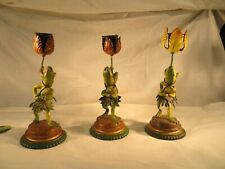 Petite Choses frog candle holders-