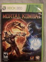 Mortal Kombat Microsoft Xbox 360 2011 Video Game With Manual Tested Pristine