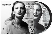 TAYLOR SWIFT - REPUTATION, ORG 2017 PICTURE DISC vinyl 2LP, NEW - SEALED!