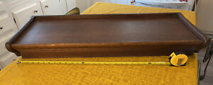 """ANTIQUE GUNN GRAND RAPIDS OAK BARRISTER STACKING LAWYER'S BOOKCASE TOP 34"""" Wide"""