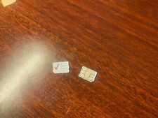 Used Verizon Micro Sim Card (Not for service, For phone activation only)