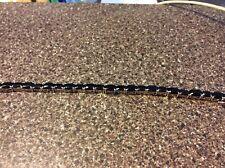 7 1/2 Inch Black Spinel Bracelet In Sterling Silver