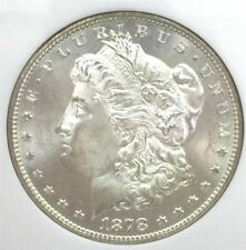 1878-S MORGAN SILVER DOLLAR MS-65 IN A OLD NGC HOLDER!