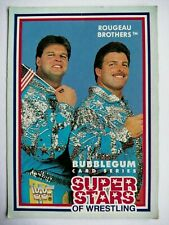 WWF Superstars of Wrestling Cards 1989 - Series 1 - #20 Rougeau Brothers