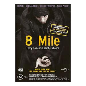 8 Mile DVD Brand New Sealed Region 4 Aust. - Eminem, Kim Basinger - Free Post