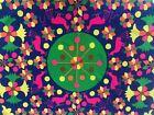 "Rare Vintage 1970s Luis Montiel Mali Mai Venezuelan Tapestry Art Rya Rug 77""x60"""