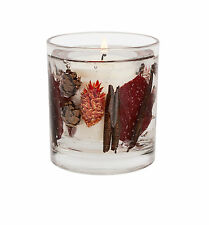 Stoneglow Botanical Collection  LOG FIRE Reuseable Gel and Soy Wax Glass Tumbler