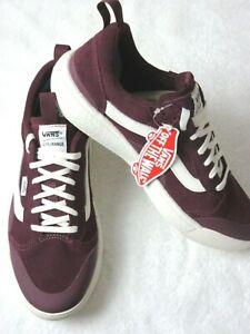 Vans Mens UltraRange Exo Se shoes Suede Port Royale Red Marshmallow Size 9.5 NEW