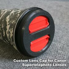 Special L-Series Edition Custom Lens Cap for Canon EF 500mm f/4.0L IS I / II