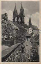 MEIßEN/ELBE, Ansichtskarte 1953, Meißen-Freiheit in Sachsen Brück & Sohn