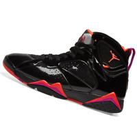NIKE WOMENS Shoes Air Jordan 7 - Black, Crimson & Anthracite - 313358-006