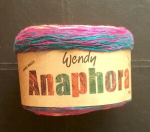 Wendy Anaphora Handmade Cotton/Acrylic 4 ply yarn 150g shade 3423 Mondrian #138