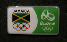 2016 RIO BRAZIL 31st Summer Olympic NOC JAMAICA rare TEAM DELEGATION  pin