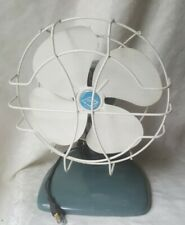 Liberty Distributors FANMASTER Vintage Oscillating Fan 120 Volts Table Desk fan