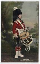 DRUMMER, SEAFORTH HIGHLANDERS: Military postcard (C30868)