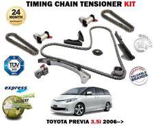 für Toyota Previa 3.5 3456cc 280bhp 2006> NEU Steuerkette Riemenspanner Set