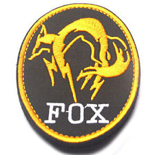 USA ARMY PATCHES MGS FOX USA Special Forces MORALE 3D EMBROIDERY Patch