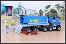 163+Pcs Enlighten Child educational toys Dumper Truck Diy building blocks model