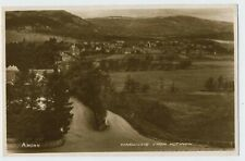 View of Dingwall Scotland Real Photograph Postcard B5