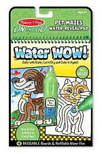 Melissa & Doug On the Go Water Wow! Water-Reveal Activity Pad - Pet Mazes