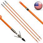 3x32Inch Arrow Bowfishing Archery Slingbow fish Hunting Powerful with Safe Slide