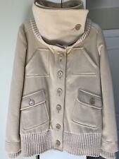 Patrizia Pepe Firenze Womens Jacket Beige Size 42