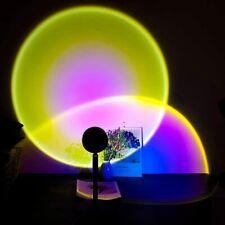 Sun Night Light Projector Atmosphere Led Usb Table Lamp Wall Dec
