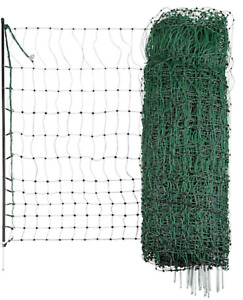 Green electric Poultry netting chicken 25M Fencing Fence Mesh Net Posts Rope