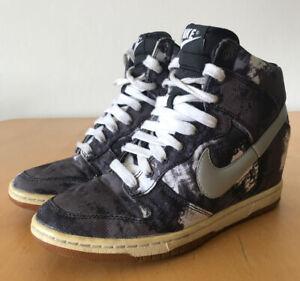 Nike Sky Hi Dunk Tie Dye Sneakers UK5 US7.5 EUR38.5