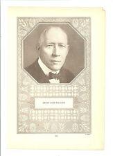 Henry Lane Williams 1928 WW Insert Supplement Poster #911 Football Minnesota Uni