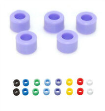 50 Pcs Purple Color Small Type Dental Silicone Instrument Color Code Rings