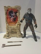 JASON Movie Maniacs GOES TO HELL Friday the 13th Figure In Clamshell McFarlane