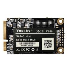 Vaseky Hard Drive Disk, Mini mSATA 3 1.8 Inch SSD Hard Drive Disk Solid Sta D9A2