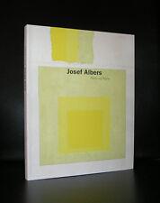 Josef Albers # WERKE AUF PAPIER # 1998, mint