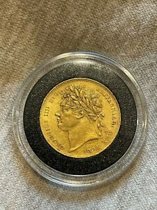 VERY RARE - 1822 King George The IIII (IV), 22ct Full Gold Sovereign - NEAR MINT